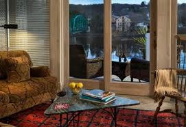 Tipping At Bed And Breakfast Bridgeton House On The Delaware In Upper Black Eddy Pennsylvania