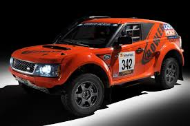 land rover racing 2012 bowler exr rally car by land rover image 462051