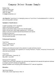 exle cover letter for resume cover letter sle for truck driver best truck driver cover letter