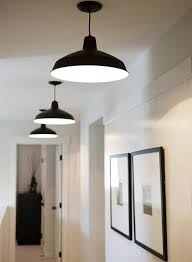 Pendant Lights For Hallways The Clean Simplicity Warehouse Barn Pendant Lighting And