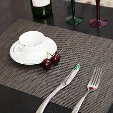 dining room placemats pvc dining room placemats for table heat insulation stain