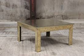 coffee table in spanish 1970s spanish coffee table in acid worked brass by roberto dubarry