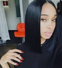 center part bob hairstyle middle part blunt cut quick whipcare com