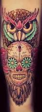 best 25 sugar skull owl ideas on pinterest owl skull tattoos