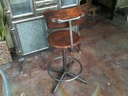 Adjustable Drafting Chair Gorgeous Industrial Drafting Chair Vintage Industrial Wood And