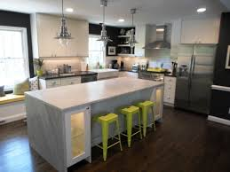 White Carrera Marble Kitchen Countertops - attractive carrera marble countertops with white stained wooden