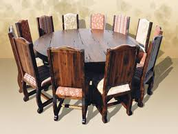large round wood dining room table dining room interesting large dining tables to seat 12 dining room