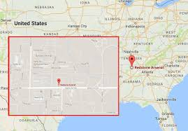 map us army bases redstone arsenal on lockdown active shooter storms alabama army