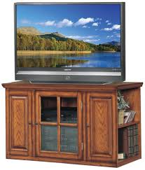 Tv Stands Furniture Amazon Com Tv Stand In Burnished Oak Finish Kitchen U0026 Dining