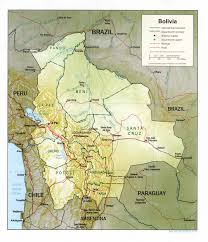 Parana River Map Bolivia Maps Perry Castañeda Map Collection Ut Library Online