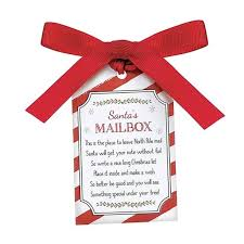 letters to santa mailbox christmas mailbox figurine for letters to santa