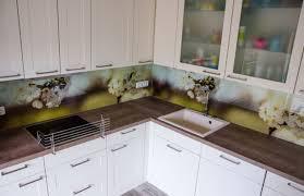 emejing glasbilder küche spritzschutz images interior design