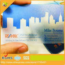Translucent Plastic Business Cards Online Get Cheap Transparent Business Cards Cheap Aliexpress Com