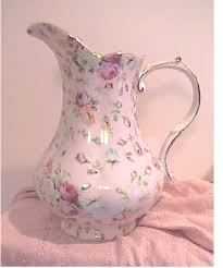 pitcher of roses pink pitcher and ceramic pitcher