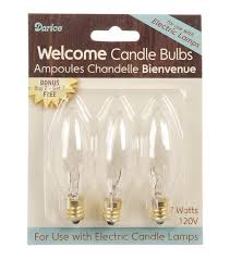 darice welcome candle bulbs for electric ls joann