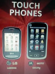 second touch screen phone coming net10