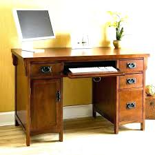 Computer Desk And Chair Combo Computer Desk Mission Style With Hutch Quarter Oak Intended