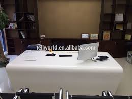 White Gloss Office Furniture by 2017 Modern White Executive Table Set Simple Boss Office Desk