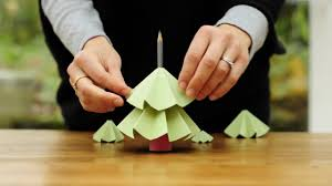 At Home Christmas Trees by Easy Paper Christmas Decorations To Make At Home