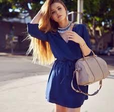 dress blue dress party party dress sun summer mini