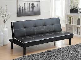 Retro Sofa Bed Coaster 550044 Black Retro Sofa Bed Futon