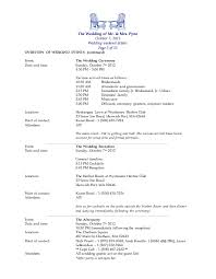 Wedding Itinerary For Guests Wedding Weekend Packet The Pyne U0027s