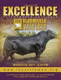 Bloomfield Sale Barn Iowa Cattlemen U0027s Association Bloomfield Catalog By My Family U0027s