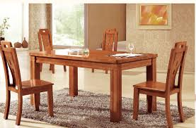 Beautiful Solid Wood Dining Room Tables Gallery Room Design - Dining room chairs wooden