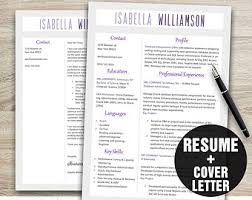 It Resume Template Download Cv Template Instant Download Resume Template Resume Cover