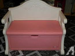 fascinating little tikes pink toy box bench awesome interior
