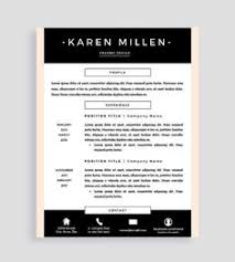 Two Page Resume Template Swiss Resume Template Cover Letter Reference By Resumeangels It U0027s
