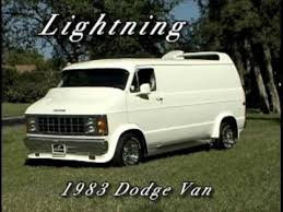 custom dodge vans lightning custom 1983 dodge