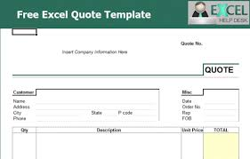 Free Excel Template Downloads Quotes Templates Excel Thebridgesummit Co