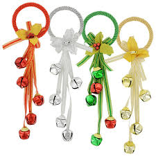 bulk house door hangers with bells and bows 13 in at