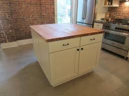 kitchen island top custom butcher block kitchen island top by elias custom furniture