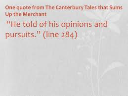 the canterbury tales the merchant ppt video online download