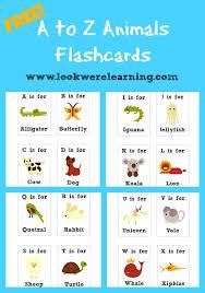 printable alphabet letter cards free printable flashcards alphabet animals