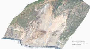 27 Meters In Feet Before And After Satellite Images Of The 2017 Big Sur Landslide