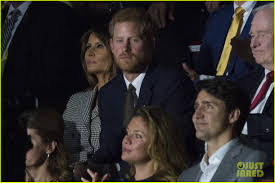 prince harry u0026 meghan markle attend first public event together