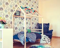 Toddler Bed Tent Canopy Toddler Bed House Bed Tent Bed Children Bed Wooden House