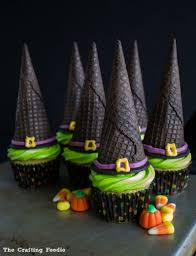 easy witch u0027s hat cupcakes