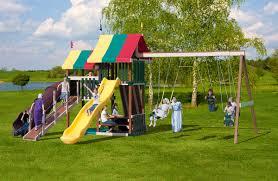 555 poly backyard retreat swing set play mor swing sets of amish