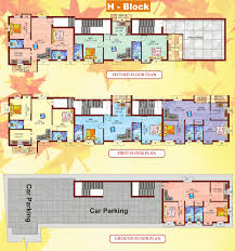 2 3 bhk cluster plan image perfect builders the perfect park