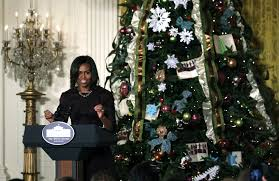 photos white house celebrates christmas us news