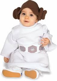 princess leia costume infant size 1 2 6 12 month baby child liea