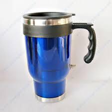 heated coffee mug 16 oz 12v electric heated mug for travel coffee tea buy