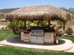 outdoor kitchen ideas kitchens backyard and tiki hut