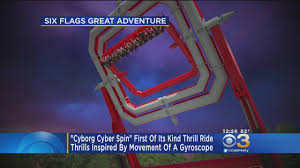 Safari Ride Six Flags Six Flags To Debut Dc Super Hero Cyborg Themed Ride Cbs Philly
