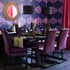 purple dining room ideas dining room wallpaper dining room designs purple wallpaper