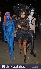 public halloween party little mix and tulisa contostavlos attend a halloween party at